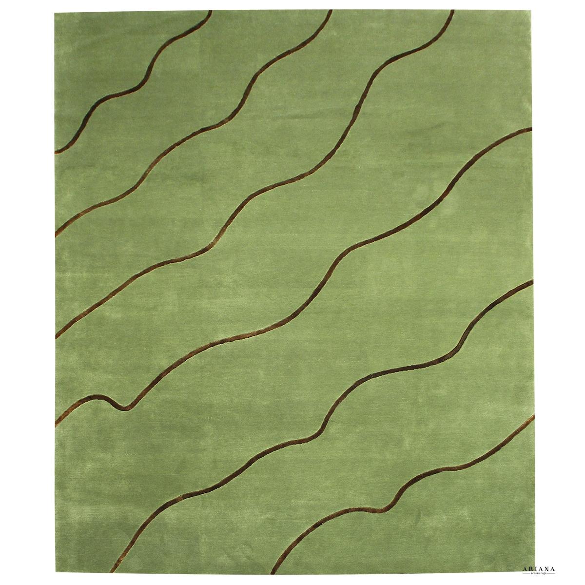 Indo Nepali Wool B Silk Ariana Rug Co